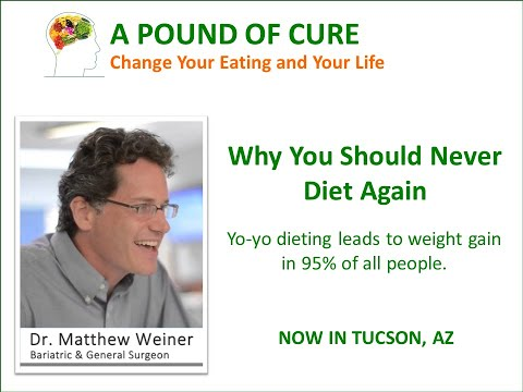 You Should Never Diet Again Dr. Weiner explains why dieting leads to weight gain.