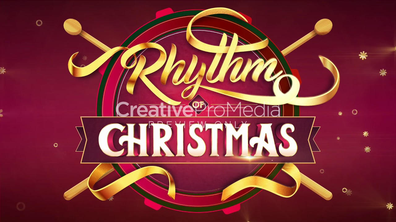 The Rhythm of Christmas: Logo Loop Video