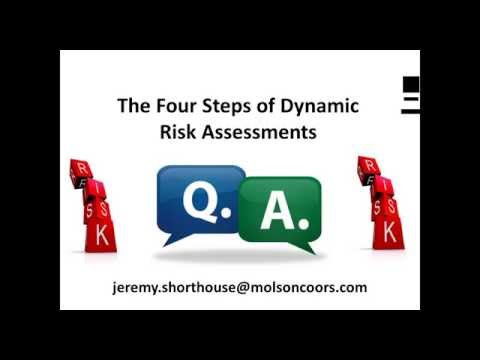 The Four Steps of Dynamic Risk Assessments 2015 08 13, 1 31 PM