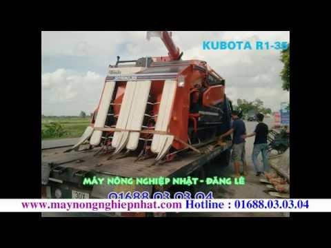 [Đăng Lê] Báo giá máy gặt liên hợp Kubota r1-35 cũ bãi Nhật hàm cắt 1m4 giá rẻ nhất miền bắc