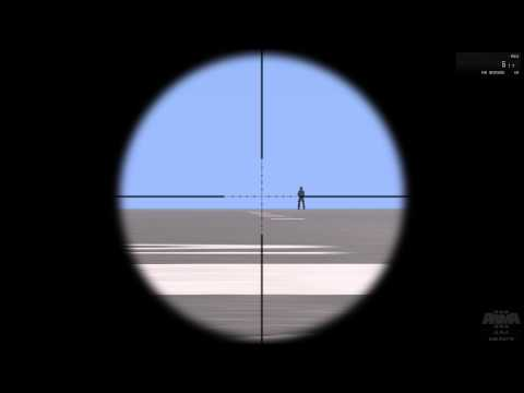 Sniping basics- Finding the distance and adjusting the scope height