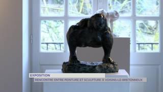 Exposition : Briselet et Gotsik s'exposent à Voisins-le-Bretonneux