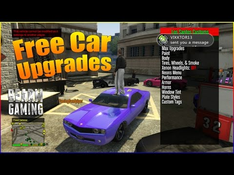 Modding People's Cars GTA 5 (Xbox 360) Mods/Fun #3