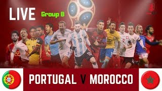 PORTUGAL V MOROCCO LIVE ON BOROFANTV