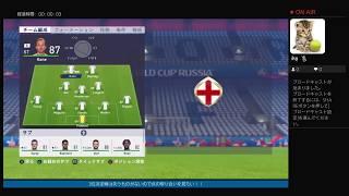 [サッカー雑談]2018FIFAワールドカップ3位決定戦ベルギーVSイングランド
