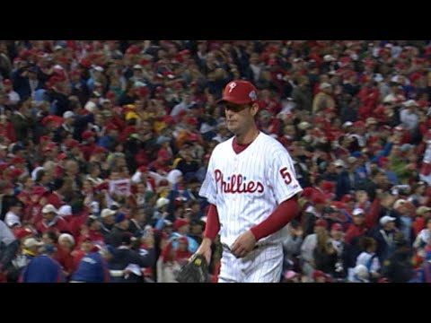 2008 WS Gm3: Moyer goes 6 1/3, striking out five