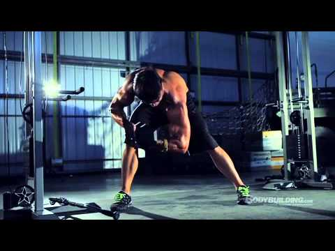 Greg Plitt Arms Workout (Military Fitness Transformation)
