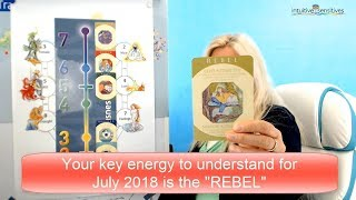 You this July 2018 - Free reading prediction from Heidi Sawyer