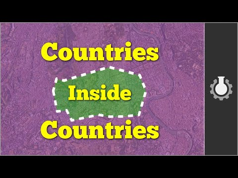 Countries inside Countries (Bizarre Borders, Part 1)
