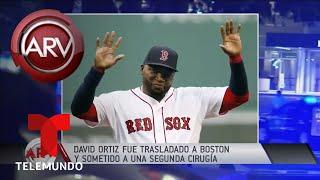 David Ortíz fue operado por segunda vez en Boston | Al Rojo Vivo | Telemundo