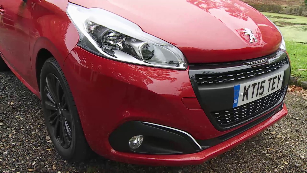 Peugeot 208 Full Video Review 2015 Youtube