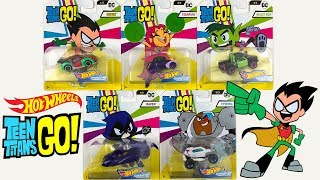Unboxing Hot Wheels Teen Titans Go Character Car Series!