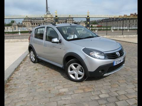 essai dacia sandero stepway 2009 youtube. Black Bedroom Furniture Sets. Home Design Ideas