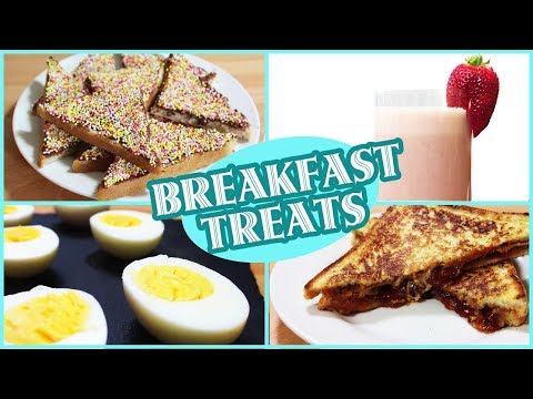 Quick and Easy Breakfast Recipes: Fun Food for Kids | Healthy Breakfast Ideas by HooplaKidz Recipes