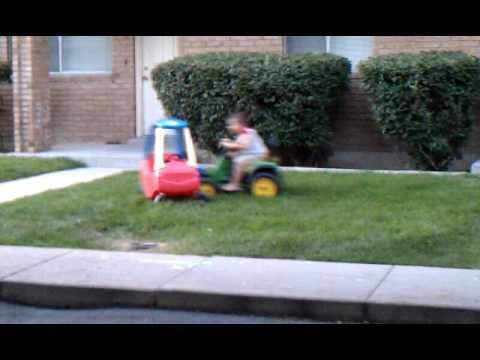 Tractor vs. Car