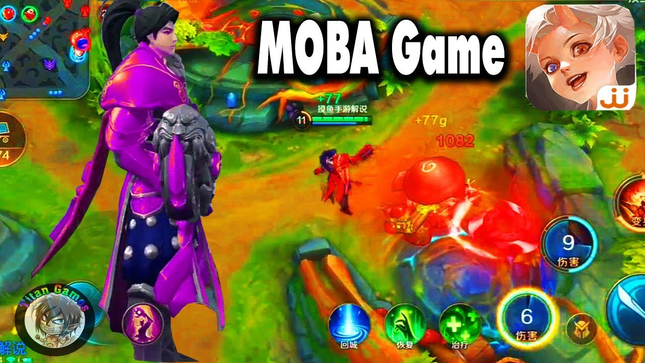 Arena Of Glory 曙光战境 New Moba By Jjworld Android Ios