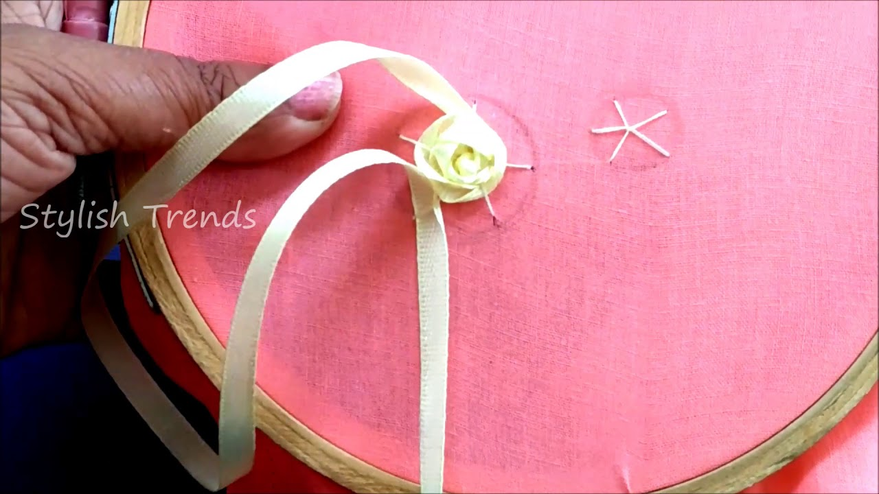 Beauty without extra effort: video lessons embroidery satin ribbons