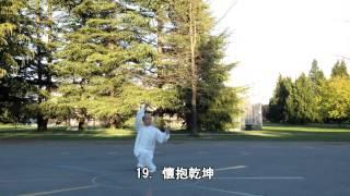 養生太極拂塵正向 (2015.04.09)