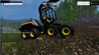 Farm simulator 15 multiplayer Primeiro corte nas Arvores #1