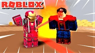 I BATTLE AS SUPERHEROES!! | The Weird Side of Roblox: Super Hero Simulator
