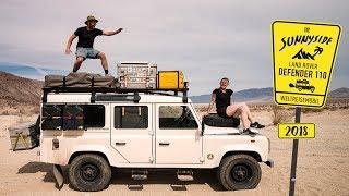 Land Rover Defender Camper Room Tour | Weltreisemobil - 1 Jahr Erfahrung | Wohnmobil selber ausbauen