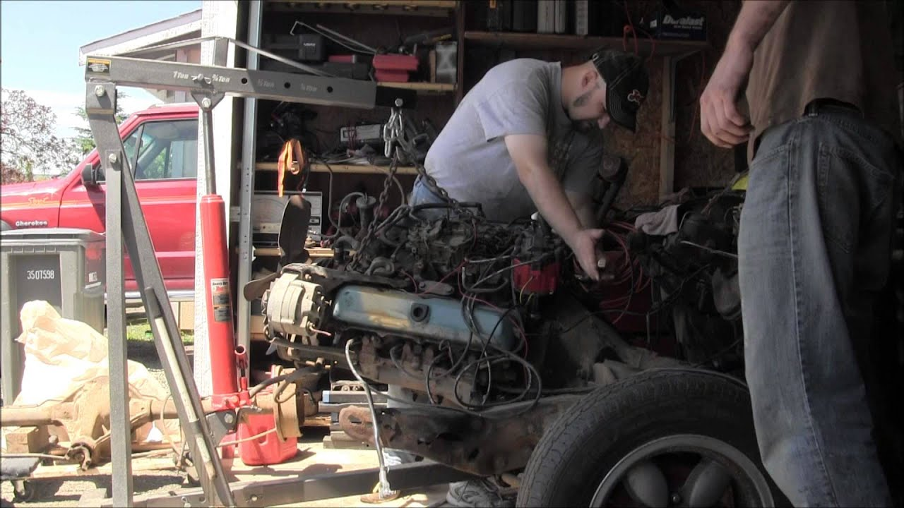 Pulled The Motor Out Of Oldsmobile 350 Rocket Engine Diagram