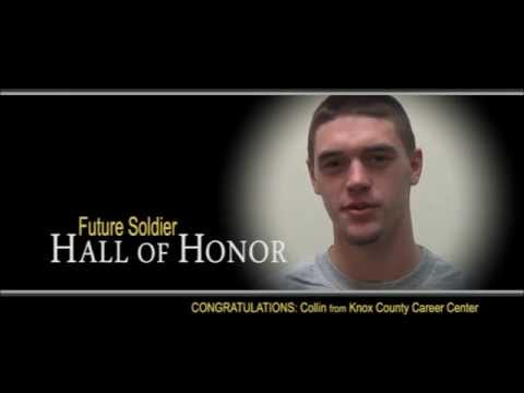 Army Hall of Honor - Collin from Knox County Career Center