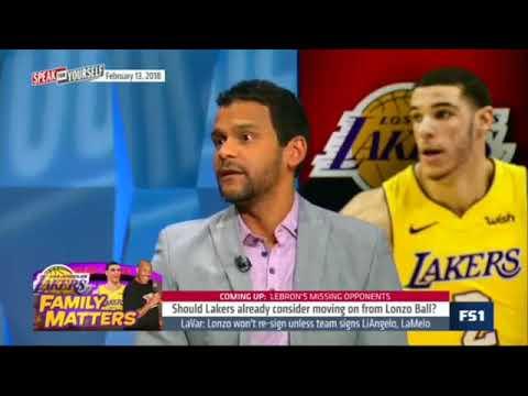 Chris Broussard Should Lakers Trade Lonzo Ball? (2018 NBA)