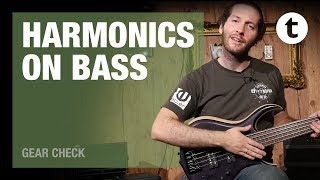 Harmonics on Bass Guitar | Tutorial