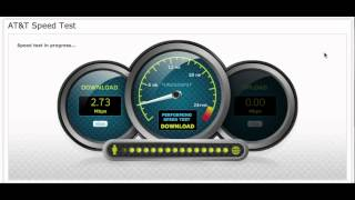Randall M. Rueff speed tests AT&T