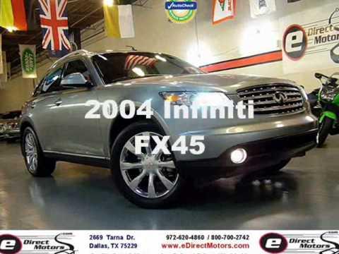 2004 Infiniti Fx45 Edirect Motors Youtube