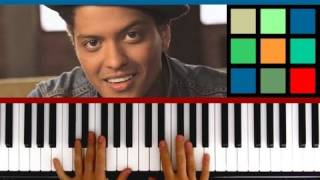 "How To Play ""Just The Way You Are"" Piano Tutorial / Sheet Music (Bruno Mars)"