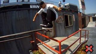 GoPro HD:  Ryan Sheckler Skateboard Street Flashback – X Games 17