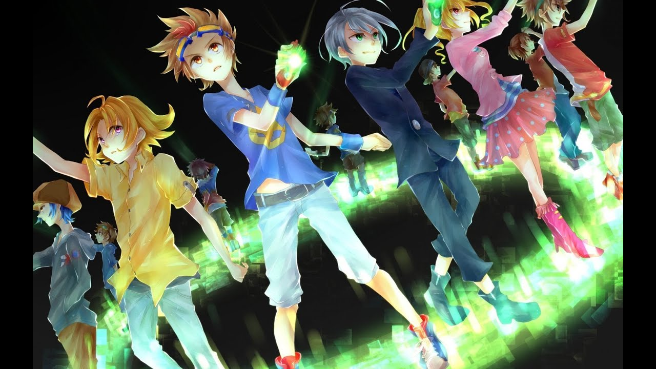 Full Hd Live Wallpaper For Laptop Digimon Xros Wars Stand Up Sub Youtube