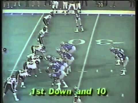 1985 Chicago Bears  LBWilber Marshall hit on Detroit Lion QB Joe Ferguson in Dec 1985