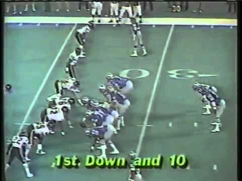 1985 Chicago Bears  LBWilber Marshall hit on Detroit Lion QB Joe Ferguson in Dec 1985