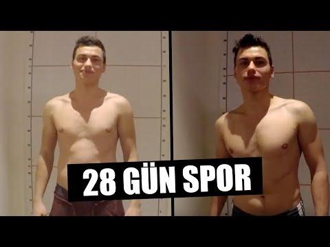 28 GÜN SPOR YAPMAK ! (ÖLDÜM)