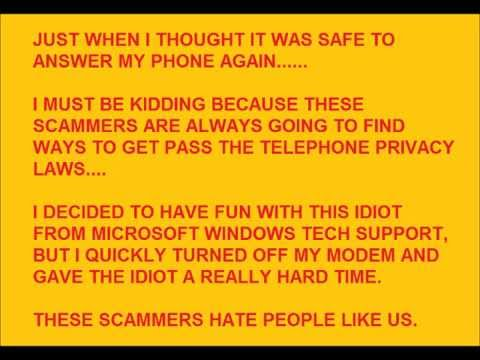 A Friendly Microsoft Windows Tech Support Chat