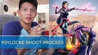 Jinri Park's Psylocke Shoot Post Production Video