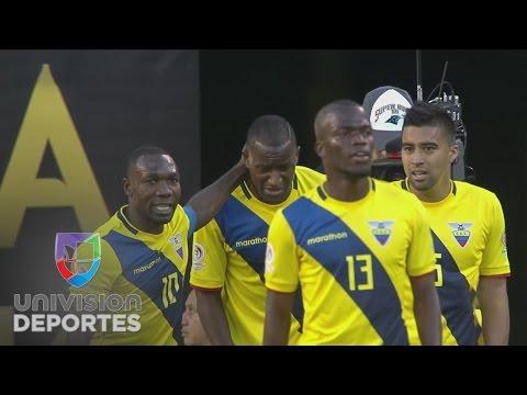 Jaime Ayoví marcó el segundo gol de Ecuador sobre Haití