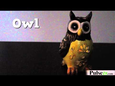 Solar Ceramic Animals