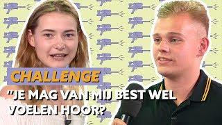 DENNIS SCHOUTEN DAAGT EMMA UIT?! | CHALLENGE #CLUBHUB