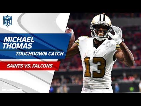 Chris Banjo's INT Sets Up Drew Brees' TD Pass to Michael Thomas! | Saints vs. Falcons | NFL Wk 14