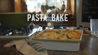 Butternut Squash Pasta Bake | Hungry For: Après-ski