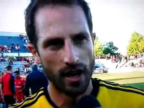 Andrew Durante post-match interview
