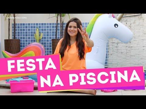 DICAS PARA UMA FESTA NA PISCINA - MAISA