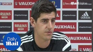 Thibaut Courtois hails professionalism of Petr Cech - Daily Mail