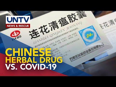 Chinese herbal drug na umano'y nakagagamot COVID-19 symptoms