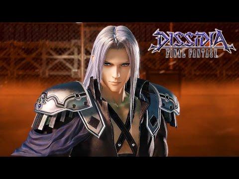 Dissidia: Final Fantasy - Sephiroth Trailer @ 1080p HD ✔