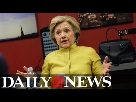 Hillary Clinton talks terrorism, economic growth, education and income inequality